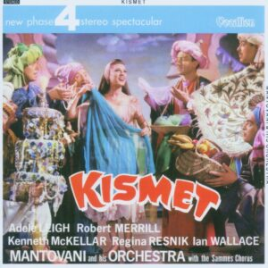 Mantovani And His Orchestra With The Sammes Chorus ‎– Kismet