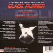 Edgar Rothermich ‎– Blade Runner- Music From The Motion Picture Score back