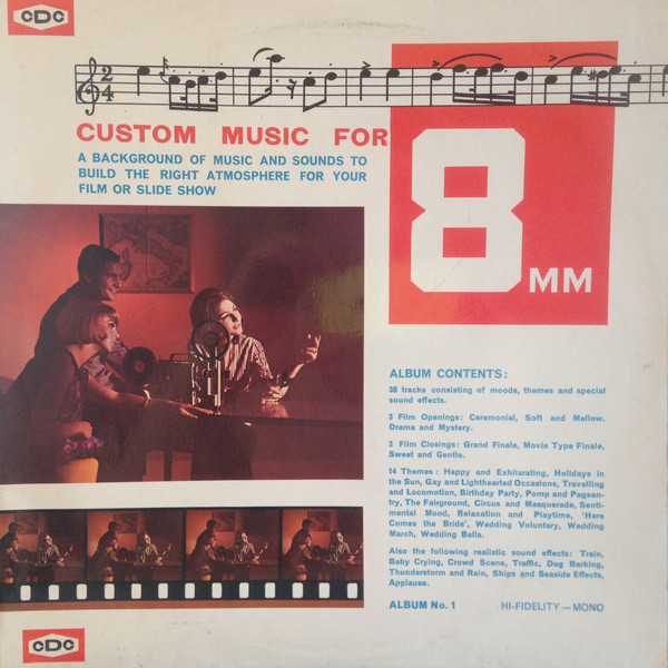 Custom Music For 8 MM - original soundtrack buy it online at the soundtrack  to your life