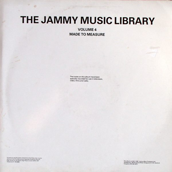 he Jammy Music Library Volume 4