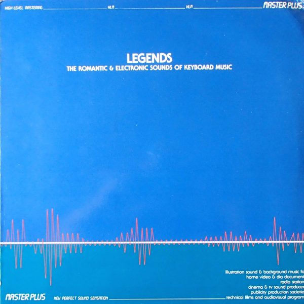 Legends - The Romantic & Electronic Sounds Of Keyboard Music