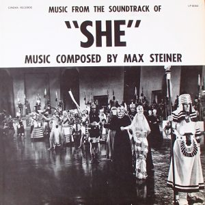 "Music From The Soundtrack Of ""She"""