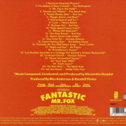 Fantastic Mr. Fox (Original Soundtrack) back