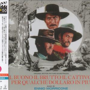 Il Buono Il Brutto Il Cattivo / Per Qualche Dollaro In Piu' - Original Soundtrack DSD Remastering. Music by Ennio Morricone.