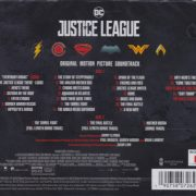 Justice League (Original Motion Picture Soundtrack) back