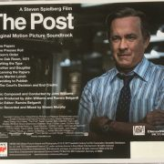 The Post (Original Motion Picture Soundtrack) back