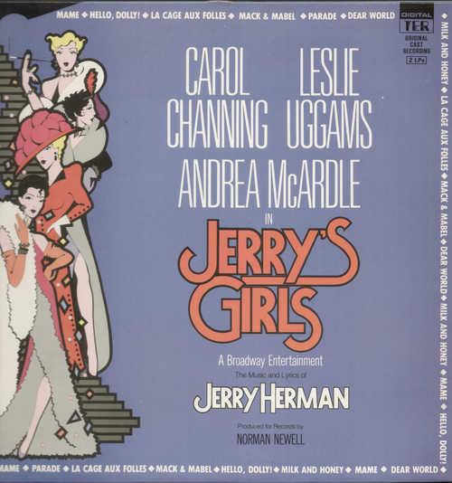 Jerry's Girls (1984 Original Cast) - original soundtrack buy it online at  the soundtrack to your life