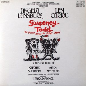 Sweeney Todd: The Demon Barber Of Fleet Street (Original Cast Recording)