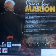 Song For Marion (Original Motion Picture Soundtrack) back