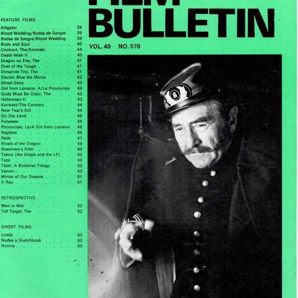 Monthly Film Bulletin Vol.49 No.578 March 1982