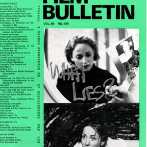 Monthly Film Bulletin Vol.49 No.580 May 1982Monthly Film Bulletin Vol.49 No.580 May 1982