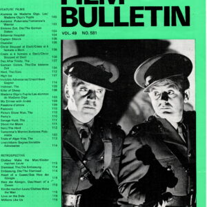 Monthly Film Bulletin Vol.49 No.581 June 1982