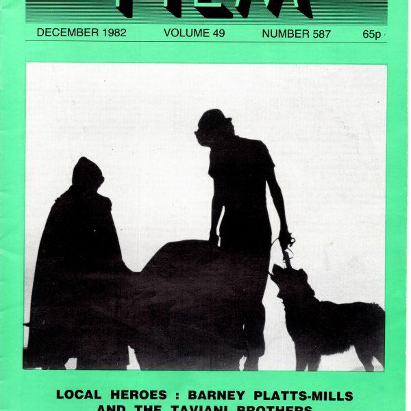 Monthly Film Bulletin Vol.49 No.586 November 1982