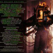 James Horner – Aliens (Original Motion Picture Soundtrack) deluxe back