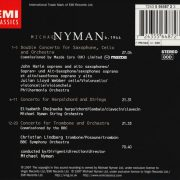 Nyman - Edition No.1 back