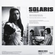Solaris Original Soundtrack back