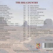 The Big Country (The Original Soundtrack) back