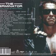 The Terminator (Original MGM Motion Picture Soundtrack) back