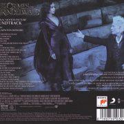 Fantastic Beasts- The Crimes of Grindelwald (Original Motion Picture Soundtrack) back