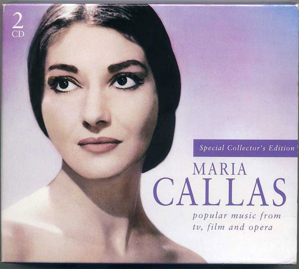 Maria Callas ‎– Popular Music From Tv, Film And Opera