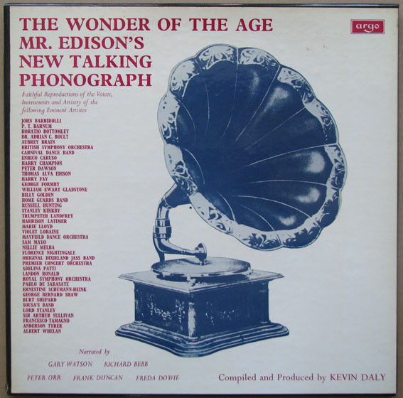 The Wonder Of The Age (Mr. Edison's New Talking Phonograph)