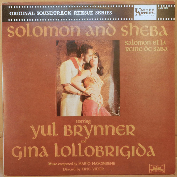 Solomon And Sheba (Original Music From The Motion Picture Sound Track)