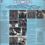 The Beastmaster (Original Motion Picture Soundtrack) back