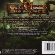 Pirates Of The Caribbean 'Dead Man's Chest' back