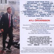 Vantage Point (Original Motion Picture Soundtrack) back