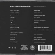 Black Panther The Album (Music From And Inspired By) back