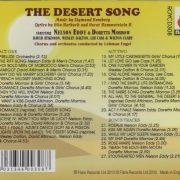 desert song cast back