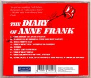 The Diary Of Anne Frank (Original Motion Picture Soundtrack) back