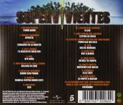SUPERVIVIENTES 2014 - PERDIDOS EN HONDURAS [CD] back