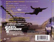 Fast & Furious 6 (Original Motion Picture Soundtrack) back