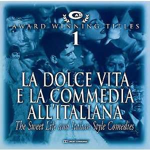 La dolce vita e la commedia all'italiana (award winning titles)