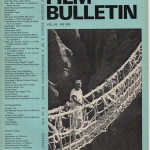Monthly Film Bulletin Vol.43 No.505 February 1976