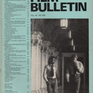Monthly Film Bulletin Vol.43 No.508 May 1976