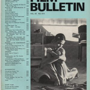 Monthly Film Bulletin Vol.43 No.514 November 1976