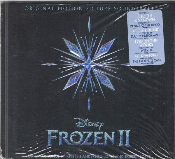frozen 2 card