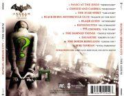 Batman- Arkham City - The Album back