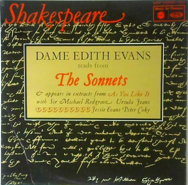 Shakespeare: Dame Edith Evans Reads From The Sonnets