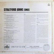 Stratford Johns Sings back